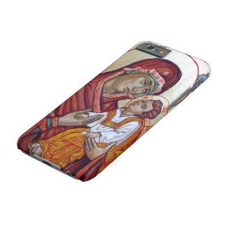 Symbol av Sanktt Mary Theotokos Barely There iPhone 6 Fodral