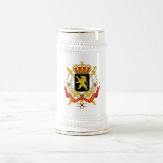 Symbol för Belgien officiellt vapensköldheraldik Sejdel