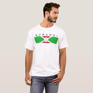 Symbol för Burundi landflagga long T-shirt