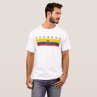 Symbol för Ecuador landflagga long Tshirts