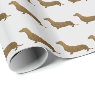 Symbol för hund för taxFauxglitter | Presentpapper