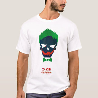 Symbol för huvud för Joker för självmordSquad | Tshirts