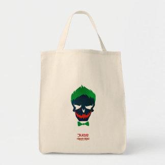 Symbol för huvud för Joker för självmordSquad | Tygkasse