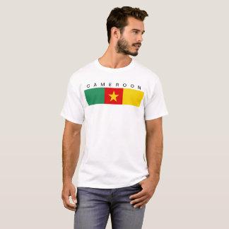 Symbol för Kamerunlandflagga long T-shirt
