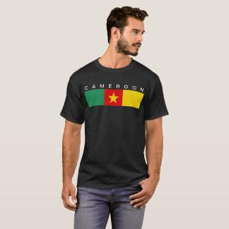 Symbol för Kamerunlandflagga long T Shirt
