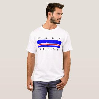 Symbol för Kap Verde landflagga long T Shirt