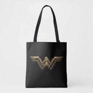 Symbol för kvinna för rättvisaliga | metalliskt tygkasse