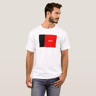 Symbol för landskap för Paraiba flaggaBrasilien Tee Shirts