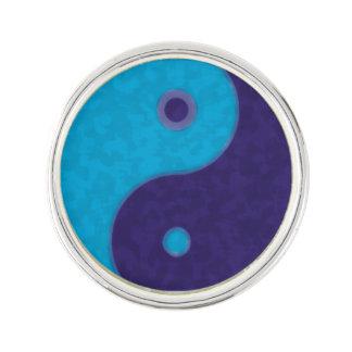 symbol för meditation för yinyang zen rockslagsnål