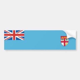 symbol för nation för fiji landflagga long bildekal