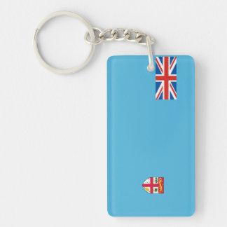 symbol för nation för fiji landflagga long nyckelring