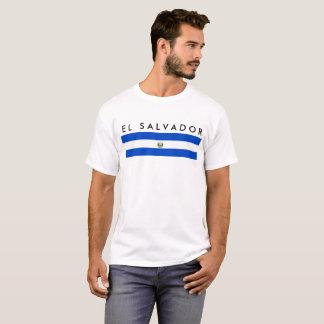 symbol för nation för flagga för El Salvador land T-shirt