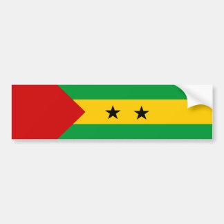 symbol för nation för Sao Tome and Principe Bildekal