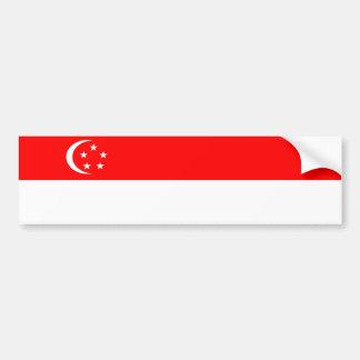 symbol för nation för singapore landflagga bildekal