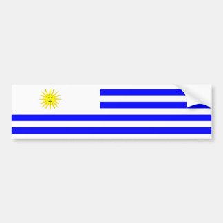 symbol för nation för uruguay landflagga bildekal