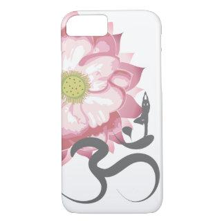 Symbol för Om för andlig för rosa