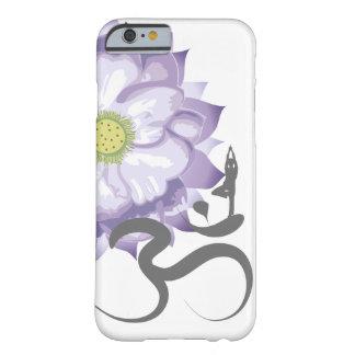 Symbol för Om för ohm för purpurfärgad Barely There iPhone 6 Fodral