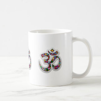 Symbol för Om-ohmAum Namaste Yoga Kaffemugg