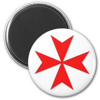 symbol för religion för malta templar riddareRöda Magnet