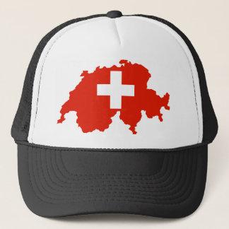 symbol för schweizare för karta för switzerland keps