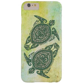 Symbol för Shamanic havssköldpadda + dina idéer Barely There iPhone 6 Plus Skal