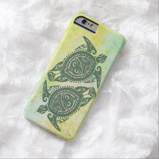 Symbol för Shamanic havssköldpadda + dina idéer Barely There iPhone 6 Skal