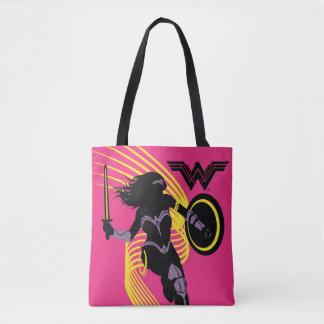 Symbol för Silhouette för kvinna för rättvisaliga Tygkasse