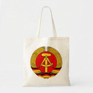 Symbol för vapensköldEast Germany officiellt heral Tygkasse