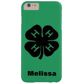 Symbol: klubb 4-H Barely There iPhone 6 Plus Skal