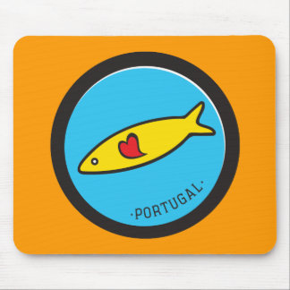 Symboler av Portugal - Sardine Nr. 02 Musmatta