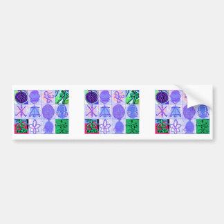 Symboler för KARUNA Reiki: Konstnärlig tolkning Bildekal