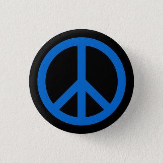 symbolet för fred 0066CC knäppas Mini Knapp Rund 3.2 Cm