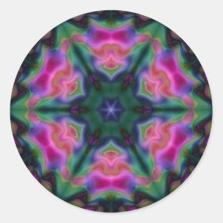 Symmetri Runt Klistermärke