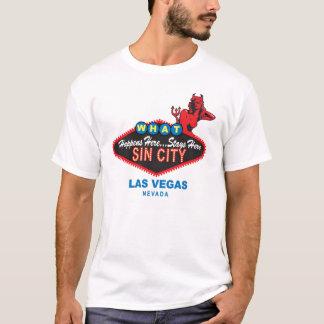 Synda den stadsVegas T-tröja T-shirt