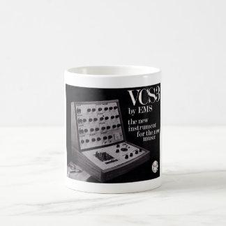 Synt för EMS VCS3 Vit Mugg