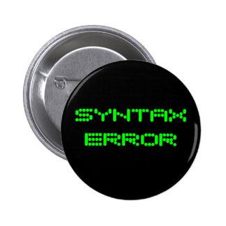 SYNTAXFELET klämmer fast Standard Knapp Rund 5.7 Cm