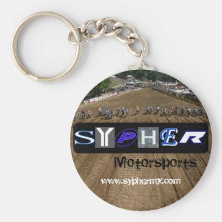 Sypher Motorsports - Holeshot Rund Nyckelring