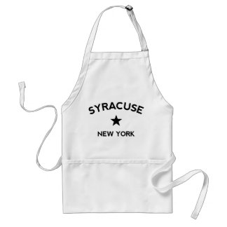 Syracuse New York Förkläde