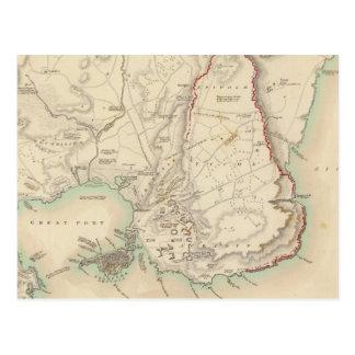 Syracuse & resterande vestiges av dess fem städer vykort