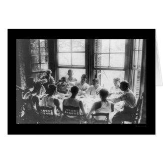 Syracuse roddmiddag 1908 hälsningskort