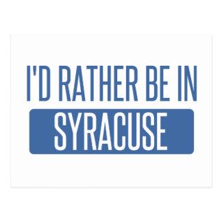 Syracuse Vykort