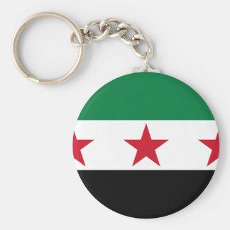 syria opposition rund nyckelring