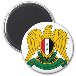 syria vapensköld magnet