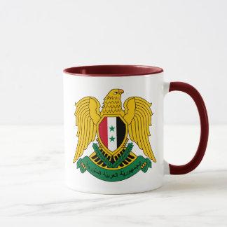 syria vapensköld mugg