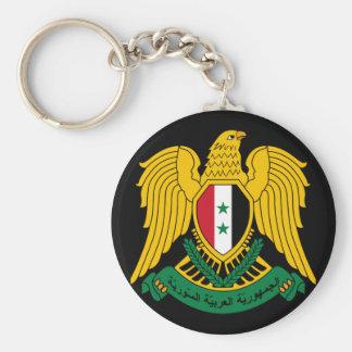 syria vapensköld rund nyckelring