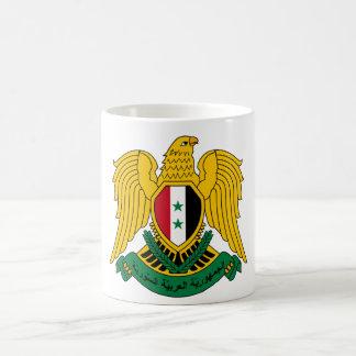 syria vapensköld vit mugg