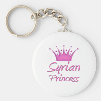 Syriansk Princess Rund Nyckelring