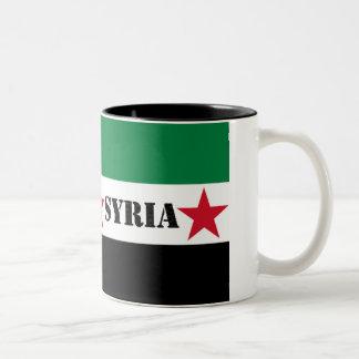 Syriansk revolutionmugg Två-Tonad mugg