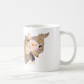 Syrien (blommakarta) kaffemugg