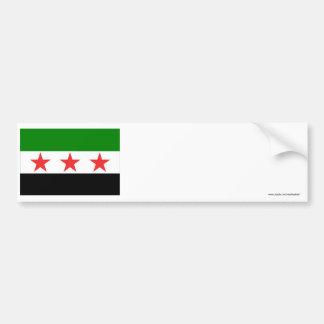 Syrien flagga (1932-1958 och 1961-1963) bildekal